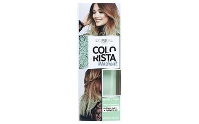 L'Oréal Paris Colorista Wash Out #Minthair väliaikainen poispestävä hiusväri
