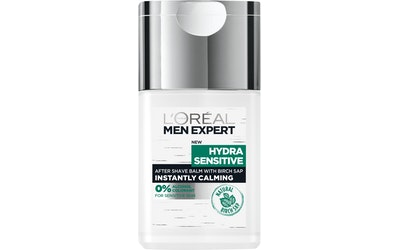 L'Oréal Paris Men Expert 125ml Hydra Sensitive after-shave balsami herkälle iholle