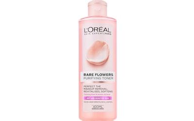 L'Oréal Paris Rare Flowers kasvovesi kuivalle ja herkälle iholle 400ml