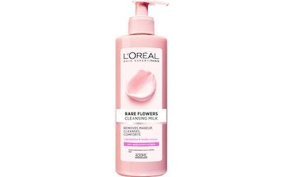L'Oréal Paris Rare Flowers puhdistusmaito 400ml kuivalle ja herkälle iholle