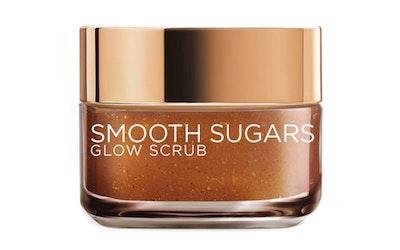 L'Oréal Paris Smooth Sugars 50ml Glow Scrub heleyttävä sokerikuorinta