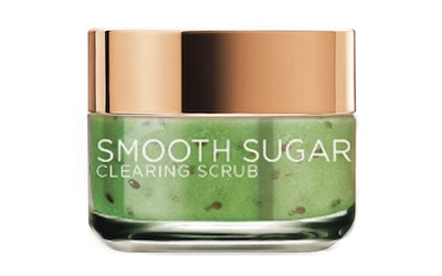 L'Oréal Paris Smooth Sugars 50ml Clearing Scrub puhdistava sokerikuorinta - kuva