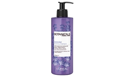 L'Oréal Paris Botanicals 400ml Lavender Soothing Therapy shampoo hennoille, hauraille hiuksille