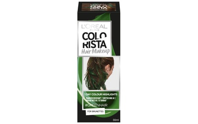 L'Oréal Paris Colorista Hair Makeup Green väliaikainen poispestävä hiusmeikki