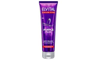 L'Oréal Paris Elvital hopeanaamio 150ml Color Vive Purple