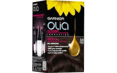 Garnier Olia 3.0 Blackish Brown mustanruskea kestoväri