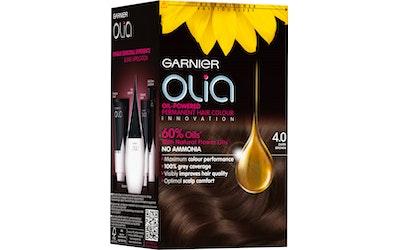 Garnier Olia 4.0 Dark Brown tummanruskea kestoväri