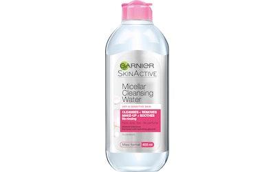 Garnier Skin Active Micellar puhdistusvesi kuivalle ja herkälle iholle 400ml