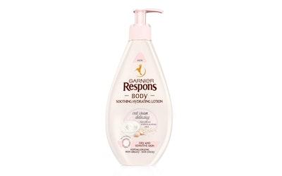Garnier Respons Body Oat Cream Delicacy vartaloemulsio 400ml kuivalle ja herkälle iholle
