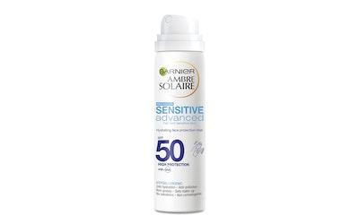 Garnier Ambre Solaire aurinkosuojasumute 75ml Sensitive Advanced SK50 kosteuttava kasvoille