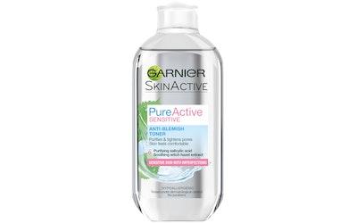 Garnier Skin Active Pure Active Sensitive kasvovesi 200ml