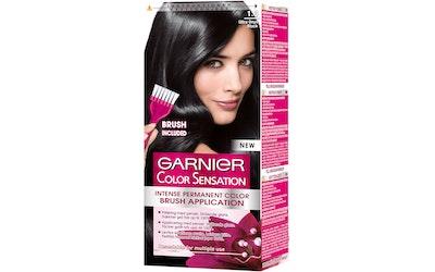 Garnier Color Sensation kestoväri 1.0 Ultra Onyx Black Musta intensiivinen