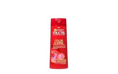 Garnier Fructis shampoo 250ml Color & Shine shampoo värjätyille ja raidoitetuille hiuksille