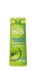 Garnier Fructis shampoo 250ml Strength & Shine normaaleille hiuksille