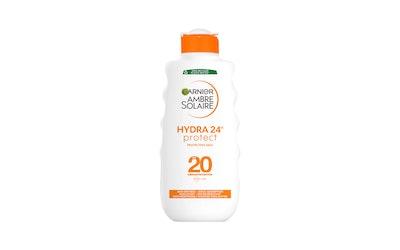 Garnier Ambre Solaire aurinkosuojaemulsio 200ml Sun Protection Milk SK20