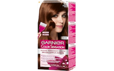 Garnier Color Sensation kestoväri 5.35 Cinnamon Brown Mahonkinen kullanruskea
