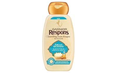 Garnier Respons shampoo 250ml Argan Richness erittäin kuiville ja vaikeasti hallittaville hiuksille