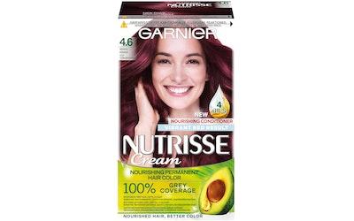 Garnier Nutrisse kestoväri 4.6 Syvä Tummanpunainen