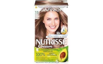 Garnier Nutrisse kestoväri 7.13 Tummanvaalea Nude