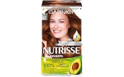 Garnier Nutrisse kestoväri 5.4 Kuparinruskea