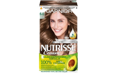 Garnier Nutrisse kestoväri 6.0 Vaaleanruskea
