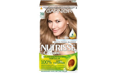 Garnier Nutrisse kestoväri 7.0 Tummanvaalea