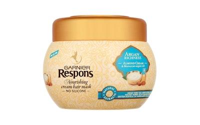 Garnier Respons 300ml Argan Richness hiusnaamio erittäin kuiville, vaikeasti hallittaville hiuksille
