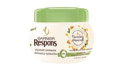 Garnier Respons hiusnaamio 300ml Nourishing Almond Milk Yoghurt
