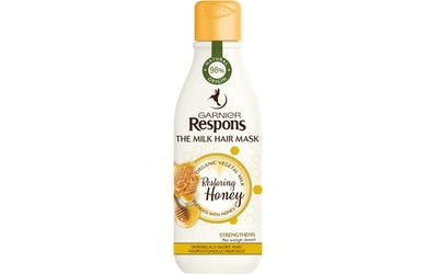 Garnier Respons hiusnaamio 250ml The Milk Mask Restoring Honey - kuva