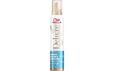 Wella Deluxe muotovaahto 200ml Wonder Volume Protection Ultra strong 5