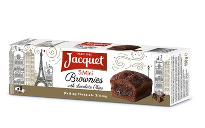 Jacquet mini brownie suklaa 5kpl/150g