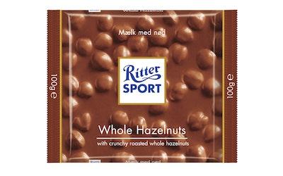 Ritter Sport Whole Hazelnuts suklaalevy 100g