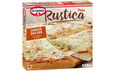 Rustica pizza 555g 4 cheese