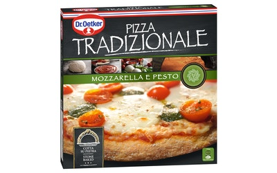 Dr.Oetker Tradizionale pizza 370g mozzarella e pesto