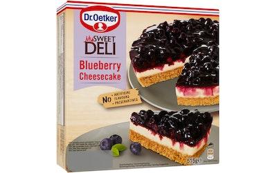 Dr.Oetker cheesecake 515g blueberry pakaste