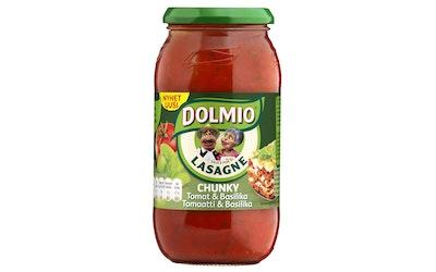 Dolmio lasagne chunky tomaatti & basilika 500g