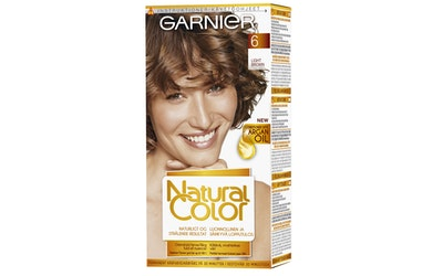 Garnier Natural Color kestoväri 6.0 Light Brown vaaleanruskea
