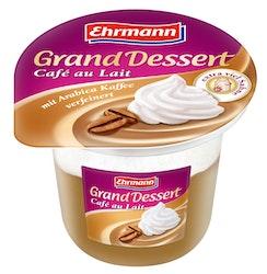 Ehrmann grand dessert cafe au lait 200g