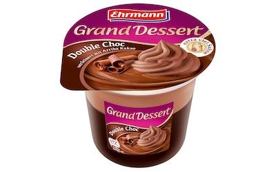 Ehrmann Grand Dessert 190g tuplasuklaa