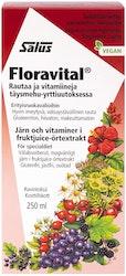 Salus floravital rautapitoinen vitamiinimehuvalmiste 250ml
