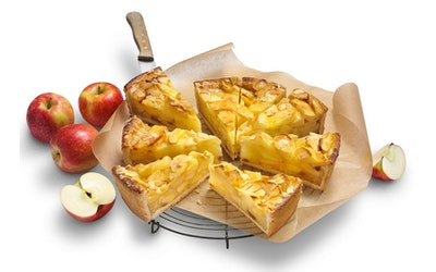 Rollfoods Vegaaninen omenapiirakka 2250g 12 palaa pakaste