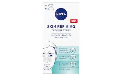 NIVEA Daily Essentials Refining Clear-up Strips puhdistuslaput 6kpl kasvojen T-alueelle
