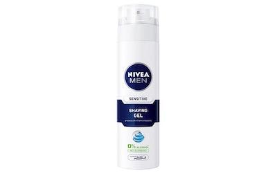 NIVEA FOR MEN Sensitive parranajogeeli 200 ml