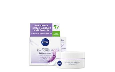 Nivea essentials 24h moisture boost + soothe päivävoide 50ml herkkä iho