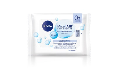 NIVEA 25kpl Daily Essentials 3-in-1 Micellar Cleansing Wipes puhdistusliinat