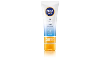 NIVEA SUN 50ml Face Shine Control Cream SK 30 -aurinkosuojavoide