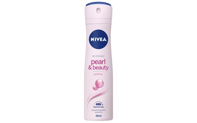 NIVEA 150ml Pearl & Beauty Deo Spray -antiperspirantti