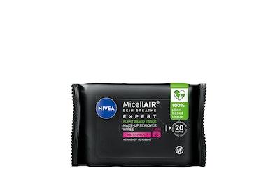 NIVEA 20kpl MicellAIR Expert Waterproof Make-up Removing Wipes -meikinpuhdistusliiinat