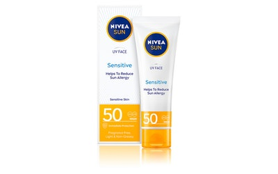 Nivea Sun kasvovoide 50ml sk50 UV Face Soothing Sensitive