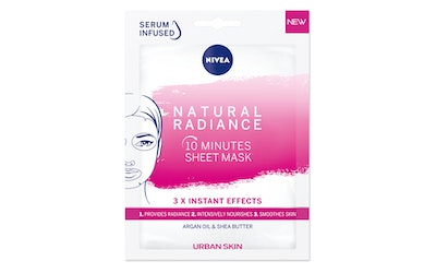 NIVEA Urban Skin Natural Radiance Sheet Mask -kasvonaamio 1kpl